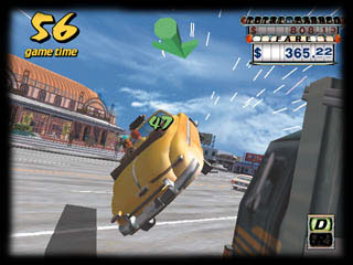 Crazy Taxi - Title screen image